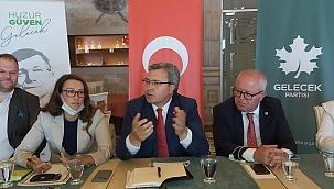 Gelecek Partisi gazetecilerle buluştu