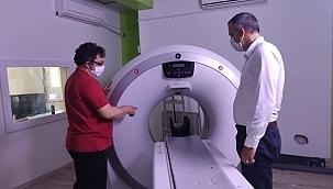 Gelibolu hastanesine tomografi cihazı