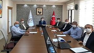 GESTAŞ Yönetim Kurulu toplantısı yapıldı