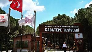 Kabatepe Orman Kampı Plajı hizmete açıldı