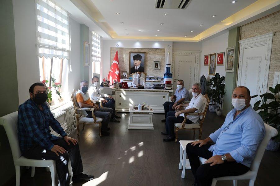 Karadenizlilerden Vali Aktaş'a ziyaret