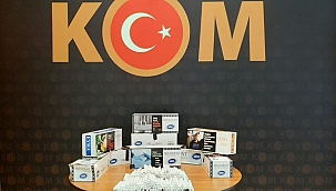 Kepez'de 1800 adet doldurma sigara ele geçirildi