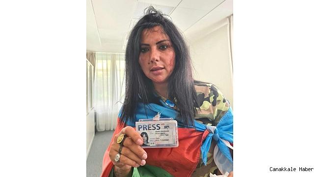 KGK: Brüksel'de Azerbaycanlı Gazeteci Khatira Sardargizi'ye saldırıyı kınıyoruz