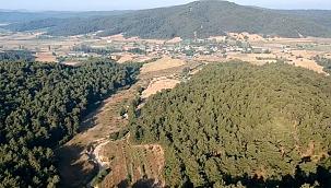 Lacivert köy çekim merkezi olacak