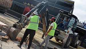 Lapseki'de doğalgaz çalışması…
