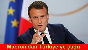 Macron; Türkiye'nin AB sularındaki ihlalleri cezasız bırakılamaz