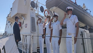 TCSG-91 gemisine ziyaret