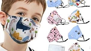 Uzmanlar uyarıyor! Çocuklara desenli maske takmayın