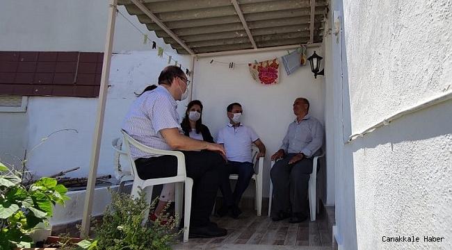 Vali Aktaş'tan Kıbrıs Gazisi Kırıcı'ya ziyaret