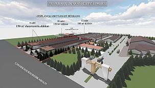 Yenice'ye Küçük Sanayi Sitesi