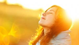 15-20 dakika güneş banyosu yapılmalı