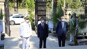 30 Ağustos Zafer Bayramında Barbaros Nara Şehitliği'nde Anma Töreni düzenlendi