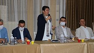 AK Parti Biga Teşkilat toplantısı gerçekleşti