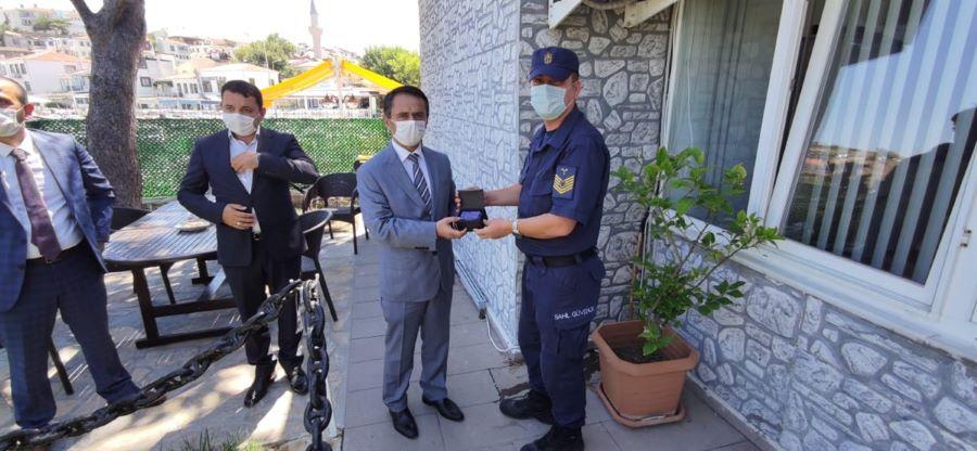 Aktaş, Bozcaada'da incelemelerde bulundu