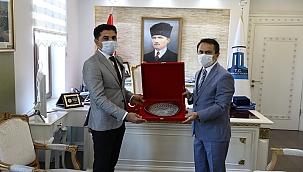 Balıkesir DSİ 25. Bölge Müdürü, Aktaş'ı ziyaret etti