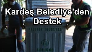 Bayramiç Belediyesi'ne kardeş belediyeden destek