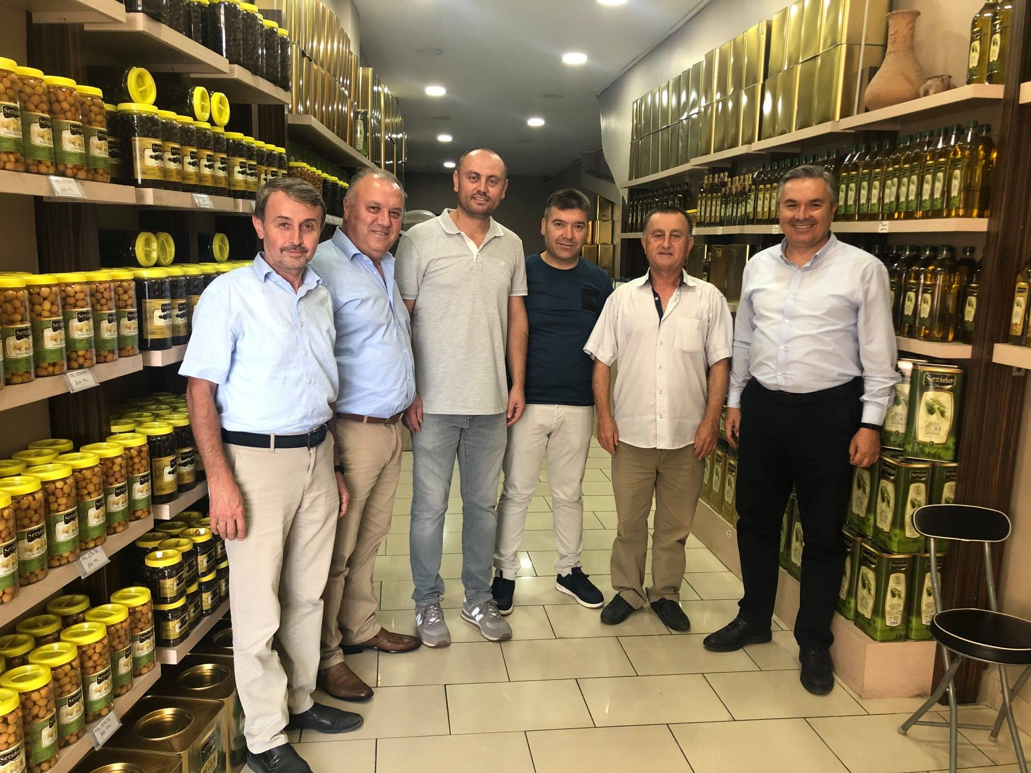 Bayramiç'te, ÇTSO meslek komite toplantısı gerçekleşti