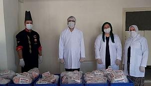 Çan Belediyesi, ihtiyaç sahibi 650 aileye ulaştı