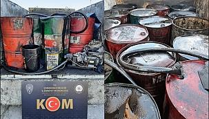 Çanakkale'de 2520 atık yağ ele geçirildi !