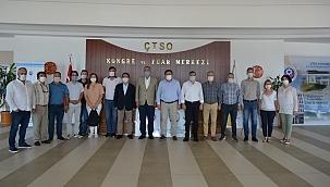 CHP Çanakkale Milletvekillerinden ÇTSO'ya ziyaret