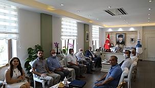ÇTB'den Vali Aktaş'a ziyaret