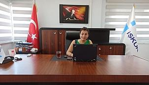İŞKUR'dan ÇOMÜ öğrencileriyle online görüşme