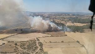 Kurşunlu Köyü'nde yangın ! 2