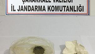 Lapseki'de uyuşturucu operasyonu