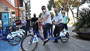 Tandem Bisikletler Hizmette !