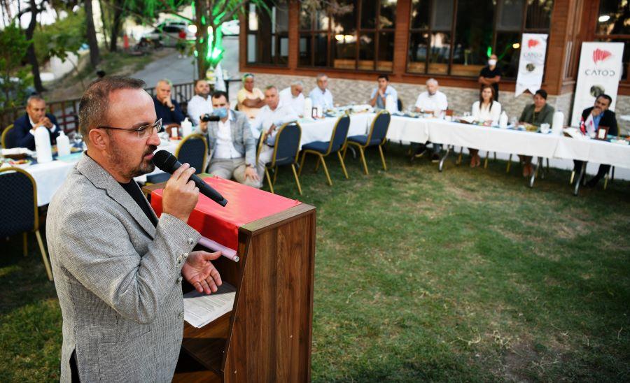 """Turan; """" Çanakkale turizmi büyük bir patlama yapacak """""""