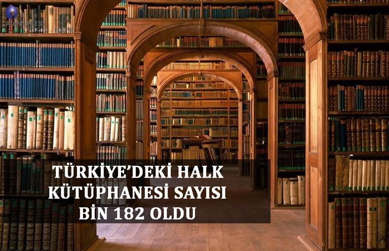 Türkiye'de, Halk kütüphane sayısı artıyor