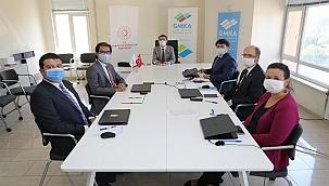 Vali Aktaş, GMKA projeleri hakkında brifing aldı