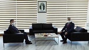 Vali Aktaş'tan, Başkan Arslan'a ziyaret