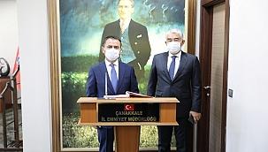 Vali Aktaş'tan Emniyet Müdürlüğüne ziyaret