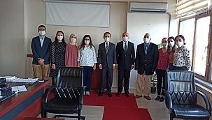 Vali Aktaş'tan, Ticaret İl Müdürlüğüne ziyaret