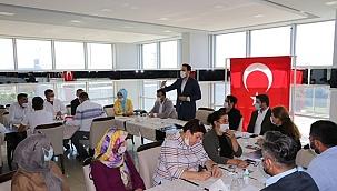 AK Parti genişletilmiş ilçe başkanları toplantısı gerçekleşti