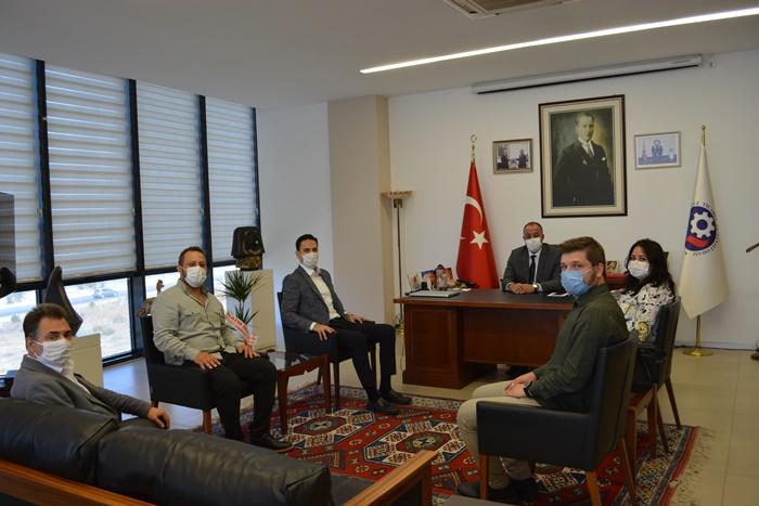 AK Parti İl ve Merkez İlçe Yönetiminden ÇTSO'ya ziyaret