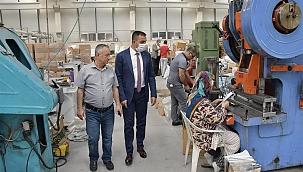 Başkan Erdoğan'dan OSB'ye ziyaret