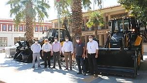 Bayramiç Belediyesi'nin araç parkuru büyüyor