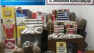 Biga'da kaçak tütün operasyonu