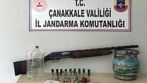 Çanakkale'de uyuşturucu operasyonu; 4 gözaltı
