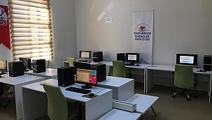 Çanakkale ve Biga Gençlik Merkezleri'nde EBA sınıfları hazır