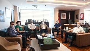 ÇTSO'dan Çanakkale Belediye Başkanlığına ziyaret