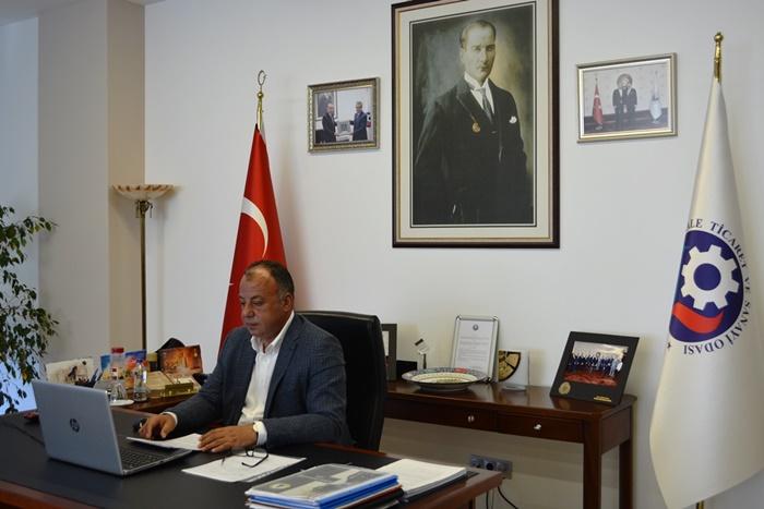 ÇTSO Eylül ayı olağan meclis toplantısı online yapıldı