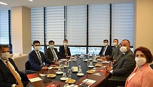 Cumhurbaşkanlığı Yatırım Destek Ofisi'nden ÇTSO'ya ziyaret