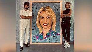 Değeri 55 bin TL olan portre sahibine teslim edildi