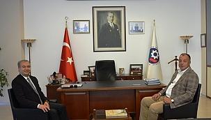 Gestaş Genel Müdürü'nden Başkan Semizoğlu'na ziyaret