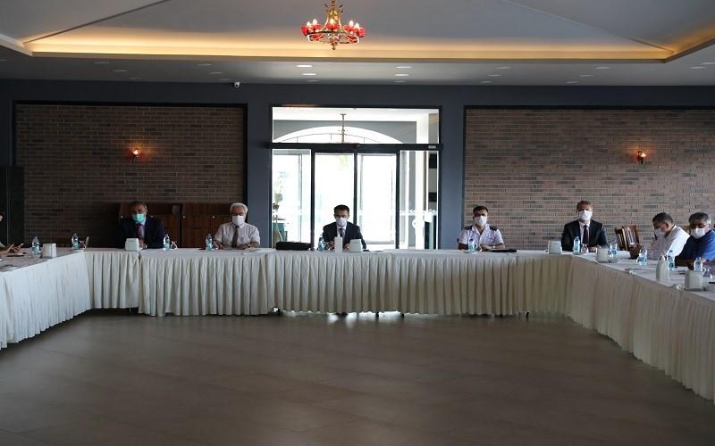 İl Pandemi Kurulunda Çanakkale'de alınan tedbirler değerlendirildi