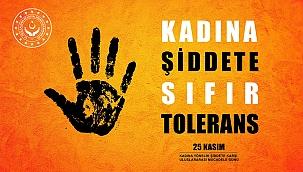 Kadına Yönelik Şiddete Sıfır Tolerans