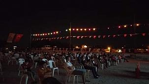 Naim filmi Bayramiç'te gösterildi